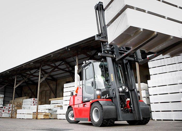 Forklift trucks 5–9 ton | Kalmarglobal