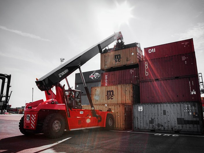 Container handling | Kalmarglobal
