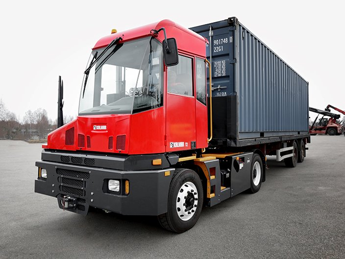 Kalmar T2 terminal tractor | Designed with you, built by us