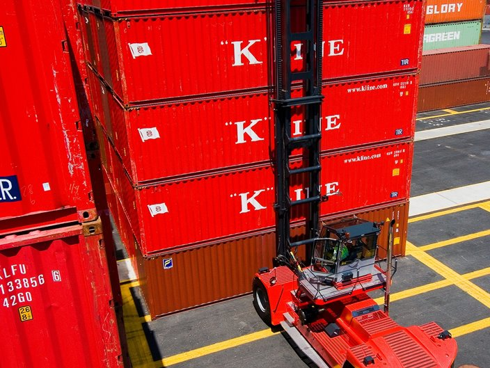 Loaded container handlers | Kalmarglobal