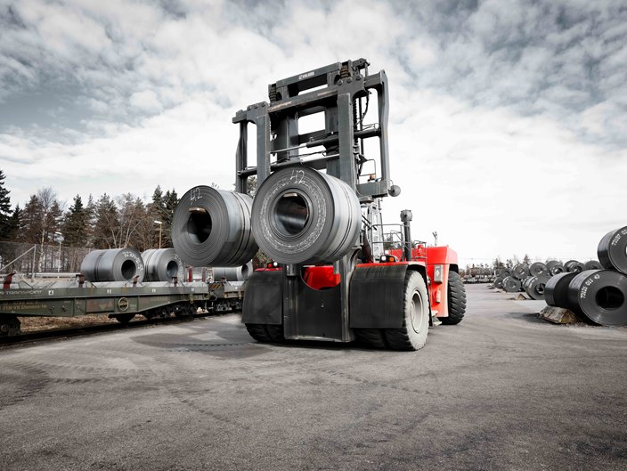 Super Heavy Forklift | Kalmarglobal