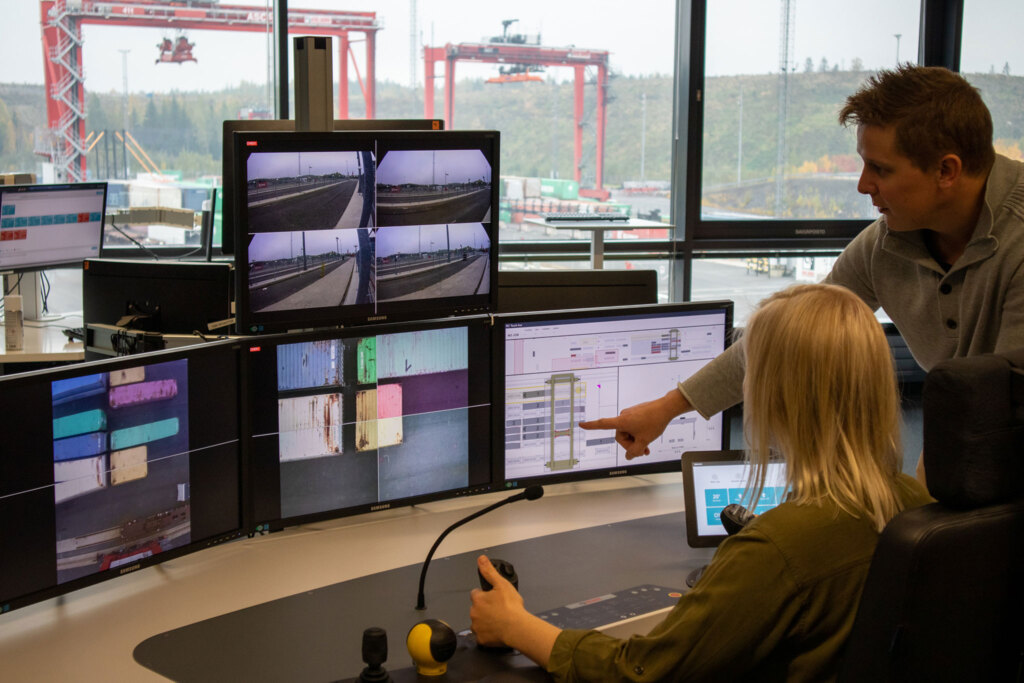 Kalmar Remote Console and automation test yard