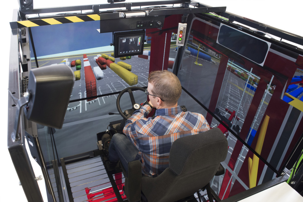 Kalmar Straddle Carrier Simulator