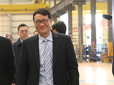 Mr Wu Jian, President of Kalmar's joint venture in China is set to conquer the market
