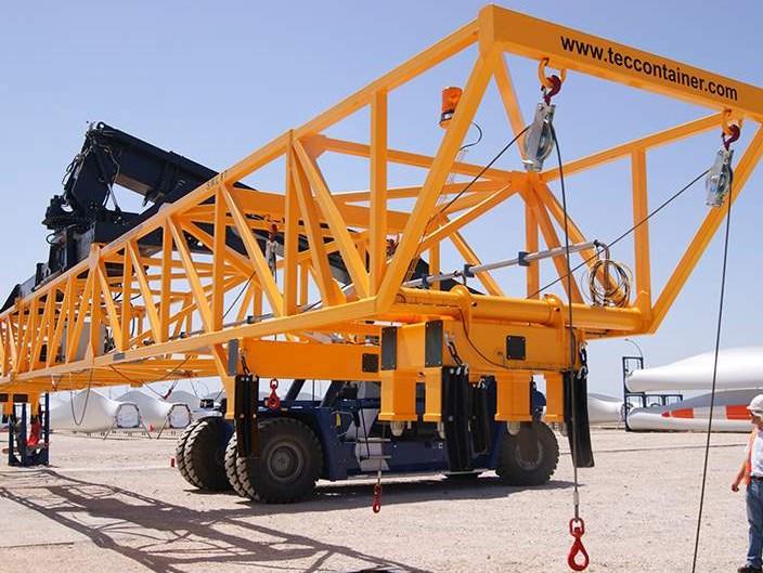 Reachstackers for industrial handling