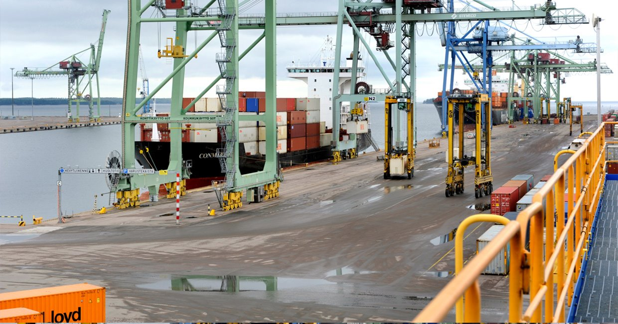 Kalmar fleet helps Finland's largest container terminal reach maximum  availability